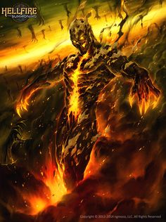 Drexo Ingus 2 Hell Fire by Chaos-Draco.deviantart.com on @DeviantArt
