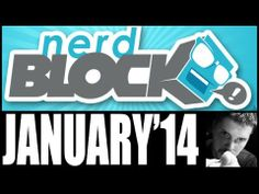 Unboxing Januarys Nerd Block, with random fun things and the monthly T-shirt!