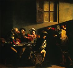The Calling of Saint Matthew. Caravaggio
