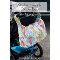 18 of the very best free diaper bag patterns and tutorials. Everything you need for a mom and baby bag, to carry all your baby and diaper supplies.