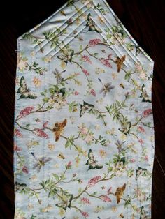 Quilted table runner Butterflies in summer by KellettKreations, $19.00