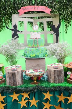 Christmas/Birthday (can be used for either celebration) In Neverland Themed Party