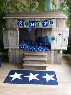 Baby Bedroom, Girls Bedroom, Big Boy Bedrooms, Little Boy And Girl, House Beds, Cool Beds, Kidsroom, Kid Beds, Children's Place