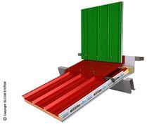 Panel metálico aislante para cubierta TERMOCOPERTURE® TCP/C by ELCOM SYSTEM