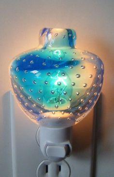 murano glass nightlight...