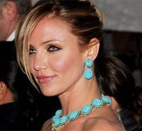 celebrity wearing turquoise jewelry - Google Search
