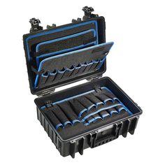 #Werkzeugkoffer B&W Tough.Case JET 5000 bei Koffermarkt: ✓POCKETS-Werkzeugtafeln ✓aus Polypropylen ✓leer ✓luft- & wasserdicht ⇒Jetzt kaufen
