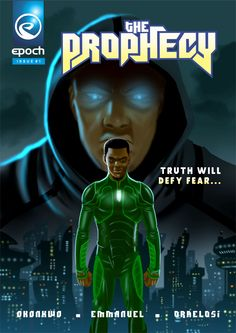 THE PROPHECY #1 (EPOCH COMICS)  Those who seek to exploit and control the world have been there from the very beginning. The world may be different and advanced but the war that was waged since the dawn of time rages on.  From the womb of humanity, two forces will rise again to do battle. Two sides locked in an eternal struggle, pushing mankind to the precipice.