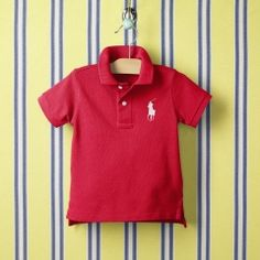 It might not have hand-me-down value, but a monogrammed Ralph Lauren infant polo is about as crowd-pleasing as it gets.