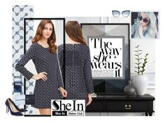 """""""the way she wear it"""" by sahrish-hossain ❤ liked on Polyvore featuring Dorothy Perkins and Karl Lagerfeld"""