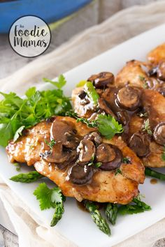Easy Chicken Marsala   This easy chicken Marsala dish takes just 30 minutes to make! Classically savory and flavorful, this is one dish you'll love to cook time and time again!   http://thechunkychef.com