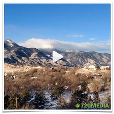 """Video by Taa Dixon, #720MEDIA web design in Colorado Springs: """"Break clear away once in a while and climb a #mountain. Wash your spirit clean."""" #johnmuir #thoughtfortheday #mountains #coloradosprings #pikespeak #colorado #nofilter"""