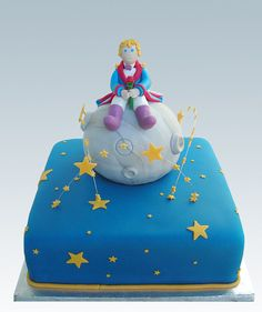 Little prince  cake by Gellyscakes, via Flickr