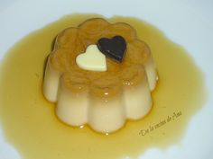 Flan de Caramelos Werther's Original (Thermomix) Flan, Sweet Recipes, Panna Cotta, Ethnic Recipes, Desserts, Deserts, Candies, The Originals, Pies