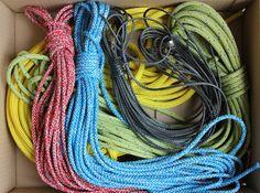 Deze bestelling vonden we zo mooi uitgezocht qua kleur, dat we even een foto maakten voordat de doos dicht ging. #touwen #lijnen #kleuren #touw #polyester #dyneema #vectran #nylon