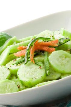 Sweet-Hot Marinated Cucumbers (Weight Watchers)