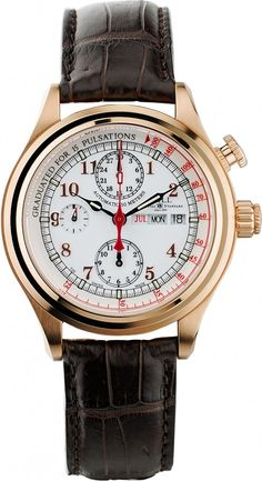 Ball Watch   Trainmaster Doctor's Chronograph - Model CM1032D-PG-L1J-WH