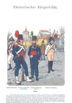 Band X - Batavia Republik 1801 Dutch East Indies, Military Modelling, One Republic, French Revolution, Napoleonic Wars, Military History, World History, Old Things, Military Uniforms