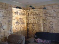 Egyptian : Hieroglyphic Walls