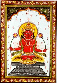Sunday is dedicated to Lord Surya or Suryanarayana - the Sun God. Description from hinduism.about.com. I searched for this on bing.com/images