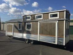 California Modern, Tiny House on Wheels