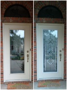 Broken door glass not a problem before and after images door shop thousands of home improvement products like door glass retractable screens storm doors more let zabitat help you increase the value of your home planetlyrics Image collections