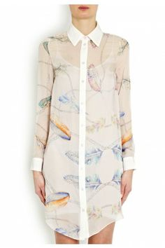 Marylebone Silk Shirt Dress - Dresses - Clothes - London-Boutiques.com