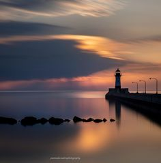 Harbor Sunrise by Pamela Walz on Capture Minnesota // Duluth Lighthouse Minnesota, Sunrise, Thankful, Lighthouses, Outdoor, Beauty, Outdoors, Outdoor Games, The Great Outdoors