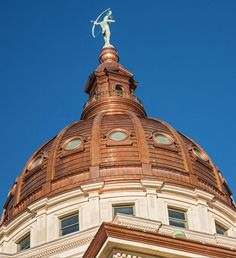 Kansas Dome (USA) #Architecture #Ornaments #copper #Roofing