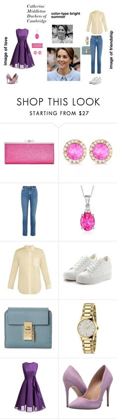 """цветотип лето"" by gubinakaterina on Polyvore featuring мода, INC International Concepts, Allurez, Khaite, Ross-Simons, Acne Studios, Gucci, WithChic и Steve Madden"