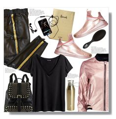 """""""Sporty Look"""" by queenvirgo on Polyvore featuring Boohoo, Harrods, Puma, Diophy, Emilio Pucci, H&M and Core Home"""
