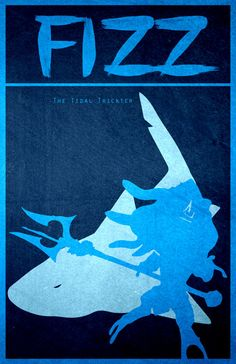 Fizz  11 X 17 League of Legends Poster por SDcorp en Etsy