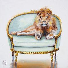 Fabio,+painting+by+artist+Kimberly+Applegate