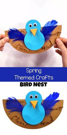 Preschool Animal Crafts, Preschool Summer Crafts, Spring Toddler Crafts, Garden Crafts For Kids, Animal Crafts For Kids, Daycare Crafts, Spring Crafts For Preschoolers, Activities For Kids, Pet Craft