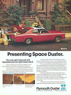 The '72 Plymouth Space Duster