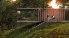 le projet de maison de l'architecte Almassov Aibek, à Almaty au Kazakhstan, est une franche réussite.