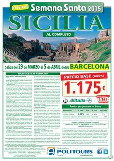 SICILIA al Completo - Semana Santa salida 29/03 desde Barcelona ( 8d/7n) precio final 1.365€ ultimo minuto - http://zocotours.com/sicilia-al-completo-semana-santa-salida-2903-desde-barcelona-8d7n-precio-final-1-365e-ultimo-minuto-2/