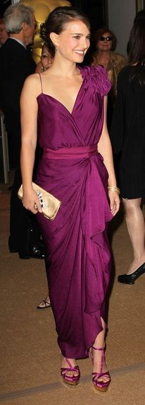 Dress – Lanvin, Shoes – Stella McCartney (2010) I'd like the dress without the big poof on the shoulder