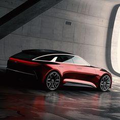 Kia Concept Car for Frankfurt Motor Show  #cardesign #car #design #kia #conceptcar