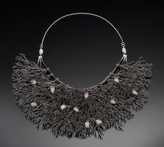 If It's Hip, It's Here: Jewelry That Grows On You. The Incredible Landscape Jewelry of Sarah Hood.