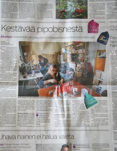 Me We Etelä-Suomen Sanomissa. Kuvat: Markus Sommers Teksti: Mirkka Aarti #ESS