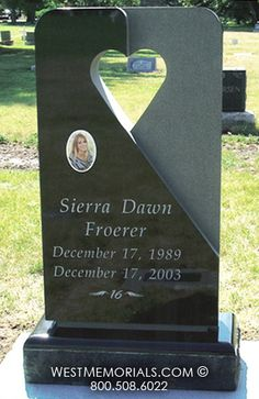 Froerer | Monument and Headstone Designs by West Memorials