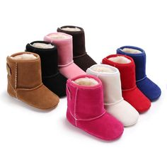 Soft Warm Baby Snow Boots.  now $16.88  chillybaby.com/collections/boots/products/soft-warm-baby-snow-boots  #Baby #boots #CottonFabric #BabyGirl #babyboots #Winter #girl