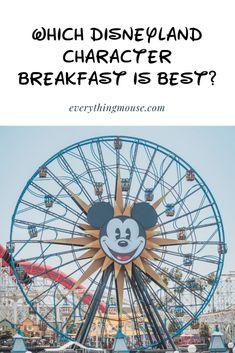 Disneyland Character Breakfast - EverythingMouse Guide To Disney Disneyland Character Dining, Disney Character Breakfast, Disneyland Dining, Disneyland Rides, Disneyland Secrets, Disneyland Food, Disneyland Vacation, Disney Dining, Cruise Vacation