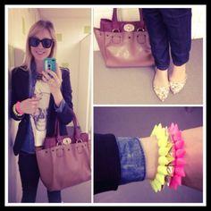 Dujour - MeninaIT is wearing Passarela Bag, GrifeOn Bracelet, Fashion Dealer Shirt, Bebecê Shoes and Romwe Glasses