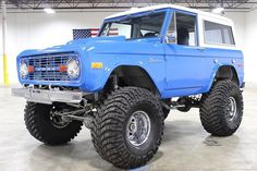 Monster Blue Bronco