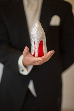 We keep talking about your awesome wedding shoes... You totally need this pic on the big day!!