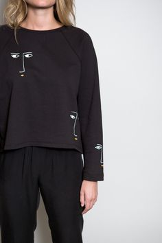 BACK IN STOCK! Kowtow Black Figurine Sweater – Parc
