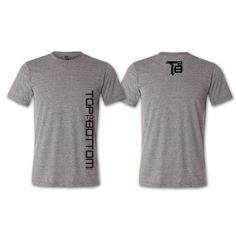 Top to Bottom Apparel signature t-shirt Mens Workout Shirts, Gym Shirts, Athletic Wear, Black Print, Mens Tees, How To Wear, Clothes, Tops, Products