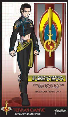 Dark Mirror Dax Commission by stourangeau.deviantart.com on @DeviantArt